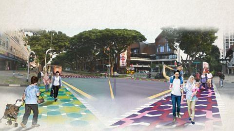 Malay Culture Strip in Geylang Serai