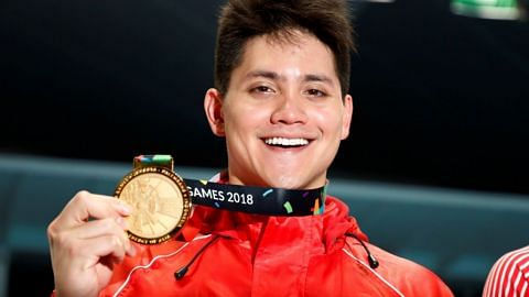 Asian Games: Joseph Schooling bags Singapore's first gold after 100m butterfly win