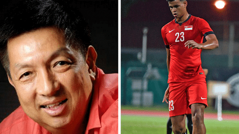 Singapore billionaire Peter Lim 'very disappointed' with Irfan Fandi's decision to reject Braga's offer