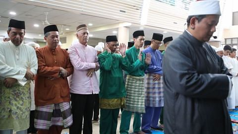 Aidiladha prayers at Al-Mawaddah Mosque