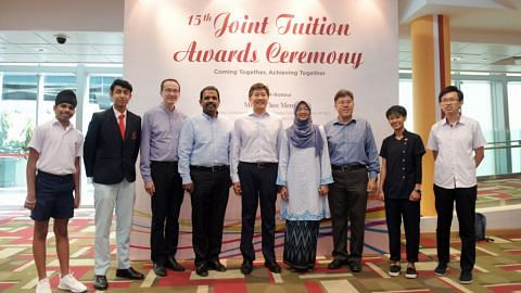 Self help groups' joint tuition awards 2018 at Singapore Polytechnic