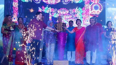 Ushering the Festival of Lights by lighting up the streets of Little India