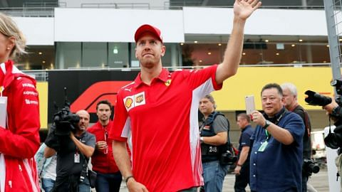 Formula One: Sebastian Vettel denies Ferrari have 'lost direction'
