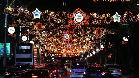 Orchard Road lights up with Disney magic for Christmas