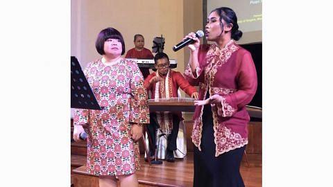 Paduan seni berbilang latar konsert 'Integrate' Perkamus