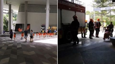 Fire at Kampung Admiralty retirement complex forces 260 to evacuate