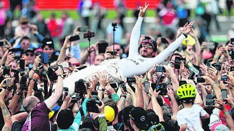 Hamilton tidak 'gilakan' rekod legenda Jerman