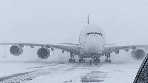 Pesawat SIA dipesong ke lapangan terbang kecil di NY ekoran ribut salji