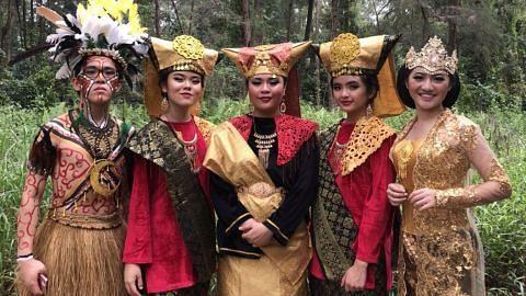 Muzikal pelajar SIM papar budaya pelbagai kaum Indonesia