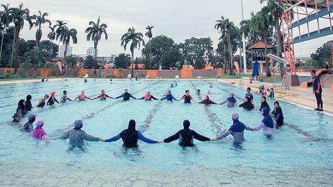 SportSG: Lebih ramai Melayu giat sukan dalam air