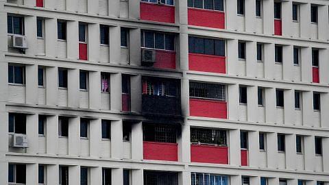 Flat di Toa Payoh terbakar, tiada cedera