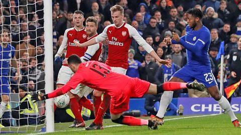 Chelsea sesia peluang hukum Arsenal