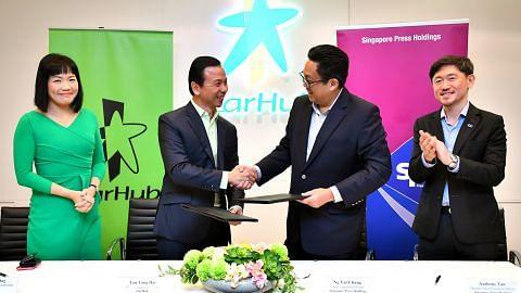 SPH dan Starhub lanjut kerjasama strategik