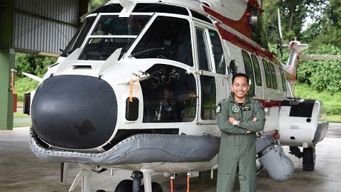 Puas dapat sertai RSAF dalam misi menyelamat