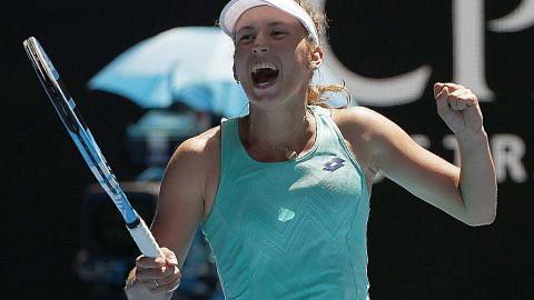 Elise Mertens ke separuh akhir Grand Slam