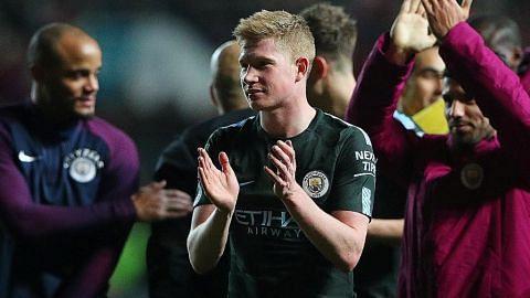 Guardiola pimpin Man City ke final, selepas tundukkan Bristol City 3-2 BOLA SEPAK PIALA LIGA ENGLAND
