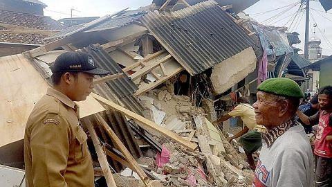 Gempa di Jawa Barat: Lebih 470 rumah rosak