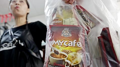 KES KOPI PERISA DURIAN DI M'SIA Polis: Peket kopi mungkin dicampur dadah bagi edaran pihak sindiket
