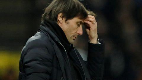 Chelsea hampa lagi tapi Conte tidak bimbang dipecat