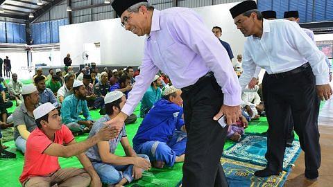 Yaacob tinjau kebajikan pekerja asing Muslim