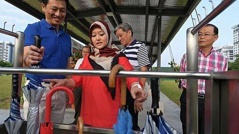 Kongsi payung antara inisiatif masyarakat di Bukit Batok