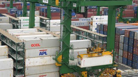 Eksport bukan minyak S'pura naik 8.8% tahun lalu
