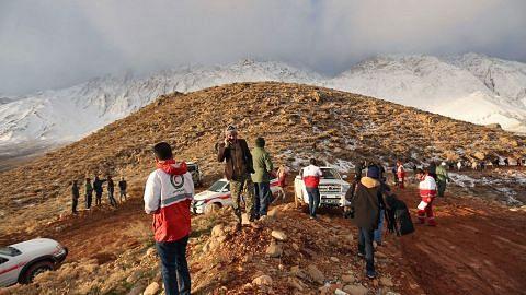 Pesawat Iran terhempas: Bangkai kapal terbang ditemui selepas 2 hari