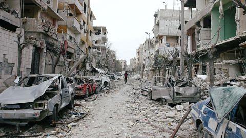 Kuasa luar yang diamanah akhiri konflik Syria kini semarakkannya
