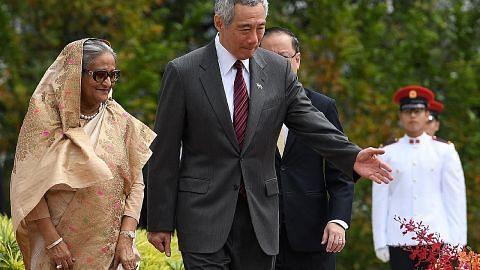 Bangladesh-Singapura sedia teroka peluang kerjasama ekonomi