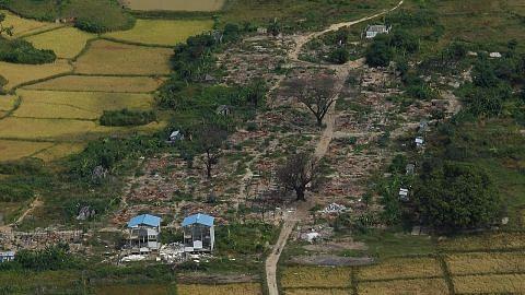 Myanmar bina kemudahan keselamatan di kampung Rohingya yang terbakar