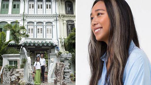 Pengukir arca 'balik kampung' demi warnai rumah kedai Emerald Hill