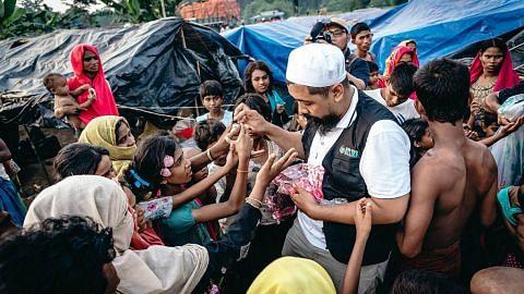 Bapa perluas sayap beri pelbagai bentuk bantuan kemanusiaan