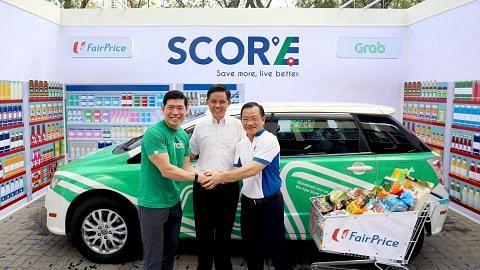 Program 'Score' Grab-FairPrice bantu pelanggan jimat belanja