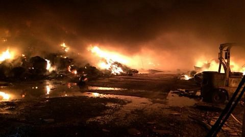 SCDF ambil masa lapan jam untuk padamkan kebakaran di Kranji