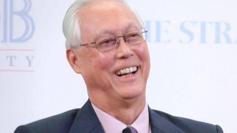 Goh Chok Tong terima anugerah tertinggi NUS