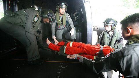 RSAF pamer pertunjukan dua hari di Sembawang, papar kemampuan laksana operasi menyelamat