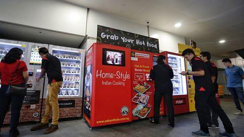 Pelajar ITE didedah kepada industri mesin makanan layan diri
