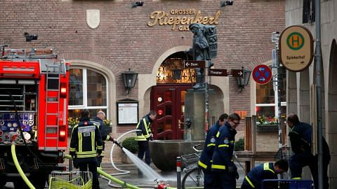 Polis masih siasat motif rempuhan van di Jerman
