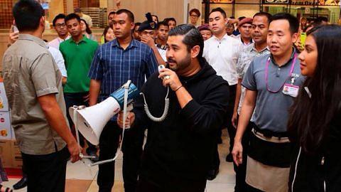 TMJ belanja rakyat Johor beli-belah