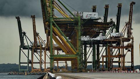 Eksport bukan minyak S'pura susut 2.7% bulan lalu