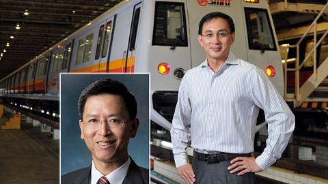 CEO SMRT letak jawatan?