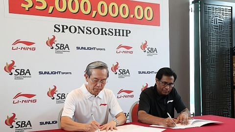 Firma China lanjut tajaan $5 juta semarak kegiatan badminton S'pura