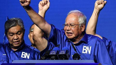 MENJELANG PILIHAN RAYA UMUM MALAYSIA Najib sifat dasar pembangkang sebagai 'Pak Pandir'