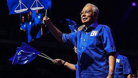 MENJELANG PILIHAN RAYA UMUM MALAYSIA Najib: Saya bukan orang suruhan Mahathir