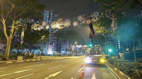 Penyalaan lampu Hari Raya di Geylang Serai 12 Mei ini