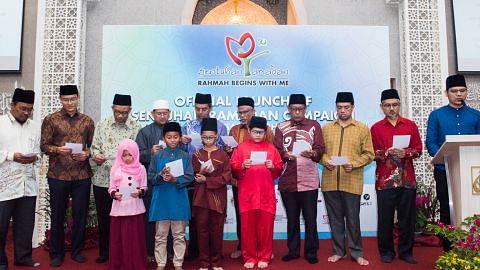 Sukarelawan bukan Melayu ikut sebar mesej