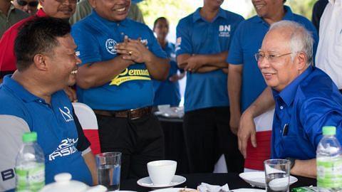 PILIHAN RAYA UMUM MALAYSIA Najib perhebat kempen, gesa pengundi usah percaya fitnah pembangkang