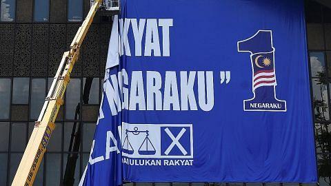 PILIHAN RAYA UMUM MALAYSIA Pemimpin BN lahir harapan peralihan kuasa lancar