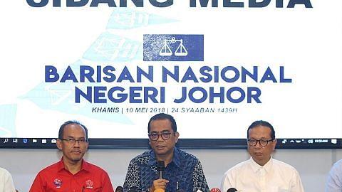 Johor pesat membangun tetapi juga terjejas oleh tarikan Pakatan