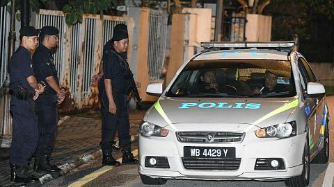 Polis periksa kediaman Najib